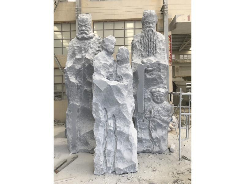 福禄寿人物|园林景观-福建惠安县森源石材有限公司