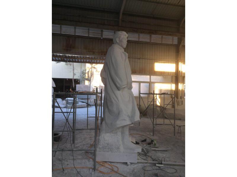 湖南白方志敏雕像|园林景观-福建惠安县森源石材有限公司