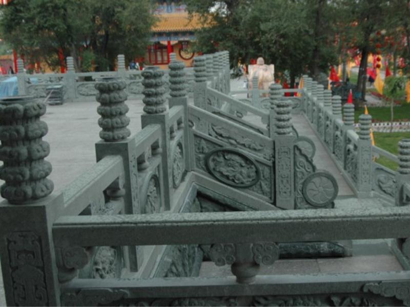 栏杆 园林景观-福建惠安县森源石材有限公司