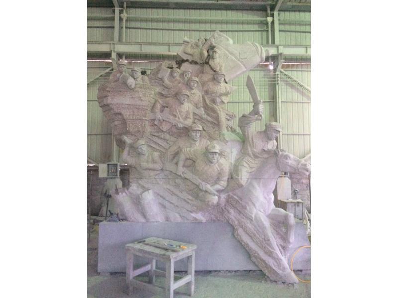 人物雕像合集 园林景观-福建惠安县森源石材有限公司