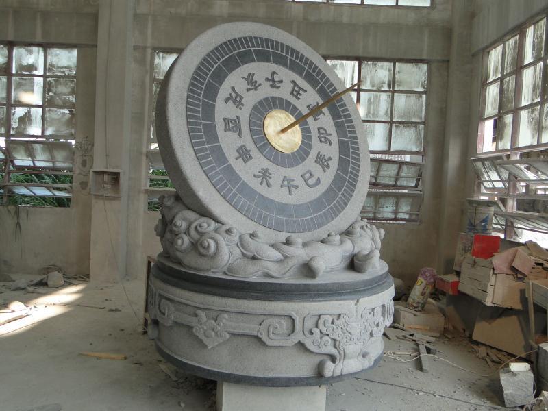 日晷雕塑 园林景观-福建惠安县森源石材有限公司