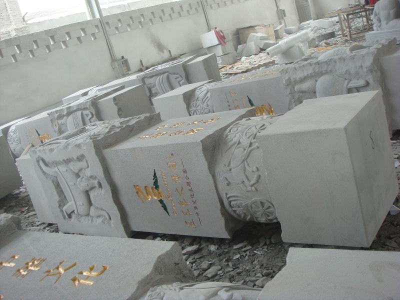 文化柱合集|园林景观-福建惠安县森源石材有限公司