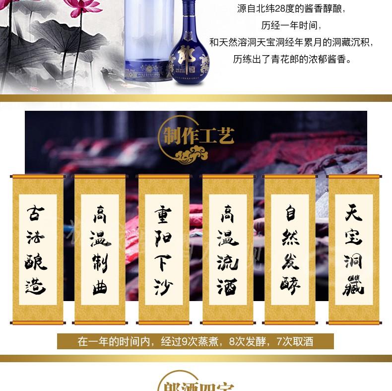 53度青花郎二十年郎酒500ML|郎酒-上海晟桀实业有限公司