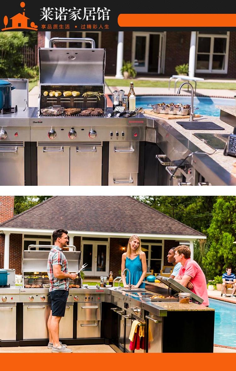 萊諾戶外烤廚定制,戶外廚房設計,您的花園注定|燒烤台設計-深圳市萊諾家居有限公司