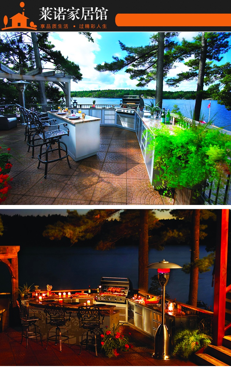 莱诺户外烤厨定制,户外厨房设计,您的花园注定独一无二|烧烤台设计-深圳市莱诺家居有限公司