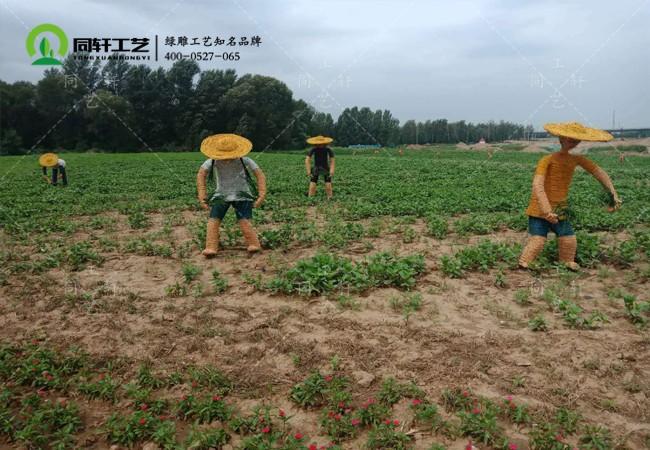草雕农耕文化