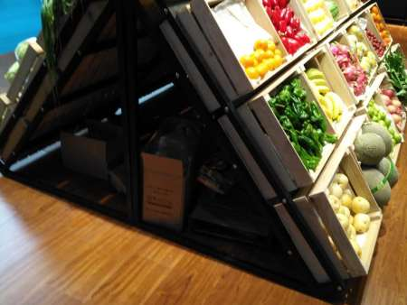 生鲜超市货架应该怎样摆放|常见问题-南岸区尧舜展柜制作部