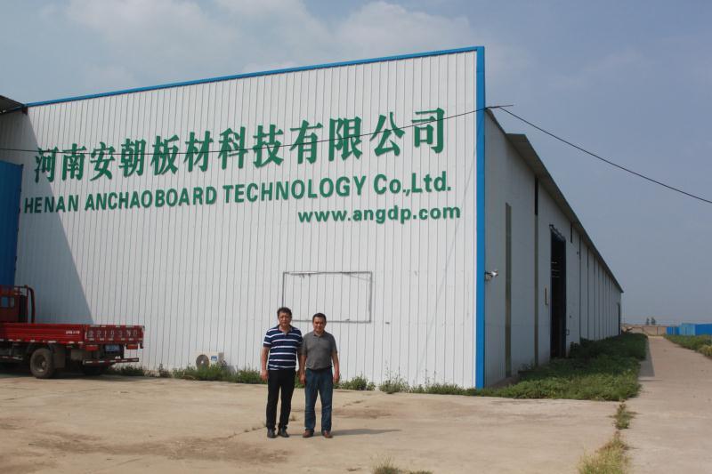 热烈欢迎中国建材科学研究总院陈继浩博士前来参观考察洽谈合作 新闻中心-安朝板材