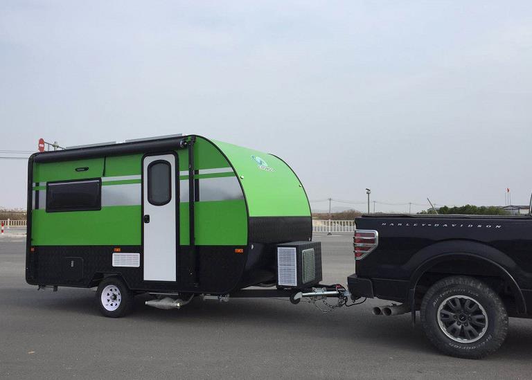 科斯拖挂房车---跟屁虫360|拖挂A型-深圳四驱科斯拖挂房车