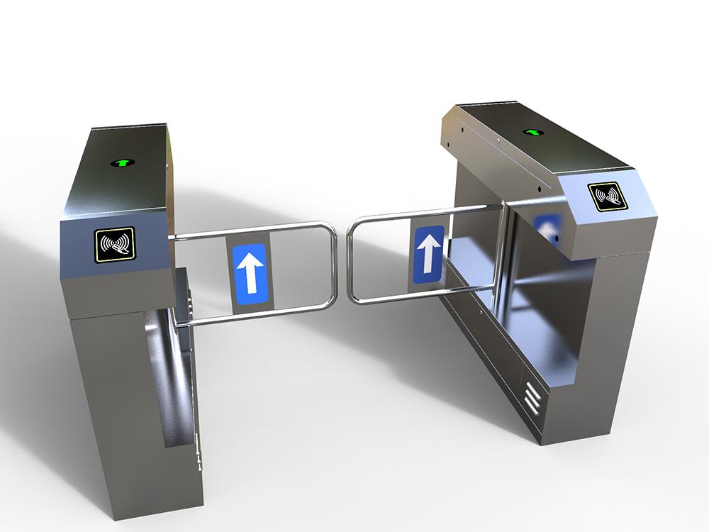 桥式八角摆闸|人行通道管理系统-厦门金宏鑫信息科技有限公司