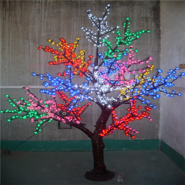 led彩树灯