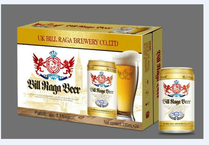 比尔拉格黄啤
