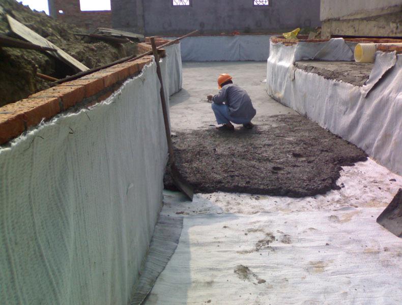 土工材料现场施工 土工材料工程施工-山东领翔新材料有限公司 