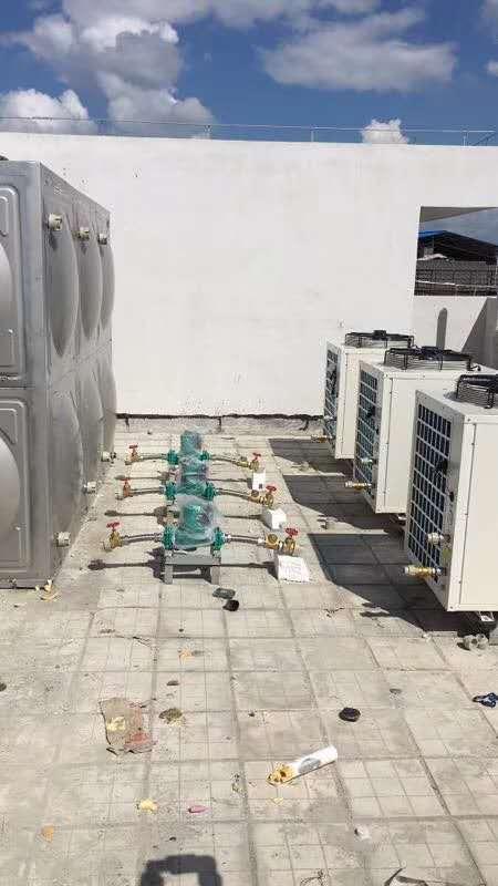 太阳能热水工程 热水案例-广西南宁卓晟能新能源科技有限公司