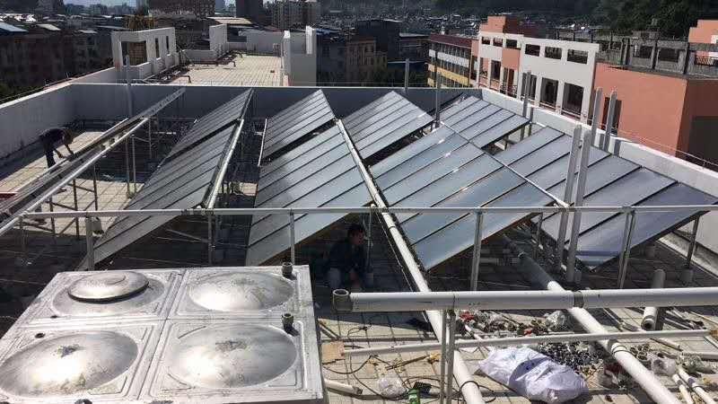太阳能热水工程|热水案例-广西南宁卓晟能新能源科技有限公司