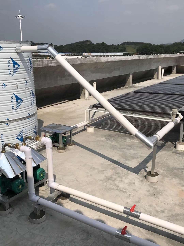 太阳能热水工程案例|热水案例-广西南宁卓晟能新能源科技有限公司