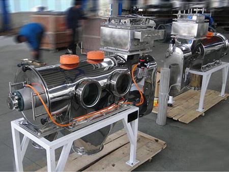 磨料行业之碳酸钙专用卧式气流筛