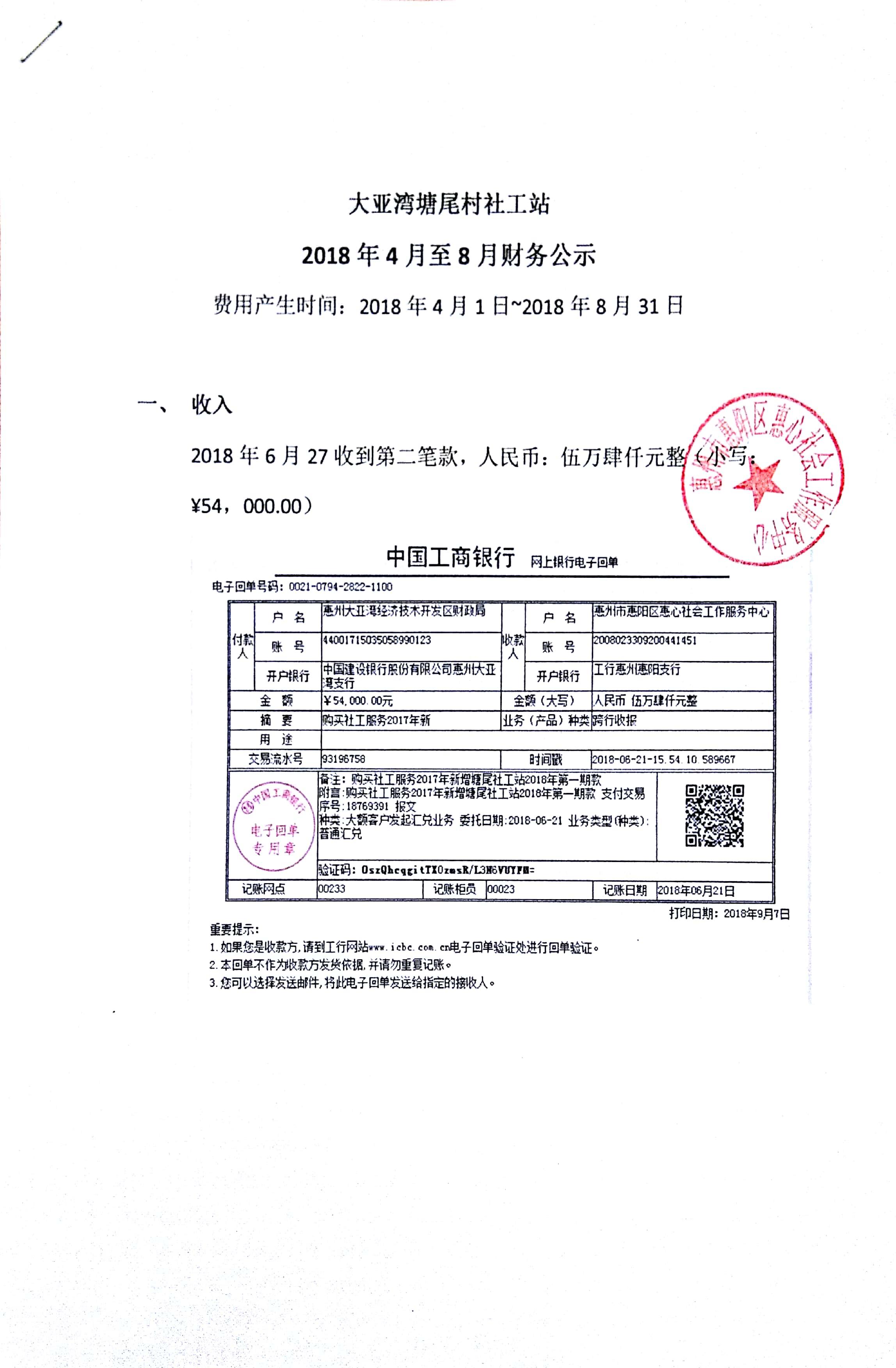 塘尾村社工站2018年4月-8月财务公示|公告栏-网赌ag作弊器|官网