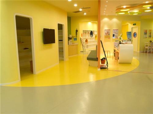 幼儿园玩具室PVC地板效果|客户案例-陕西汇优建材有限责任公司