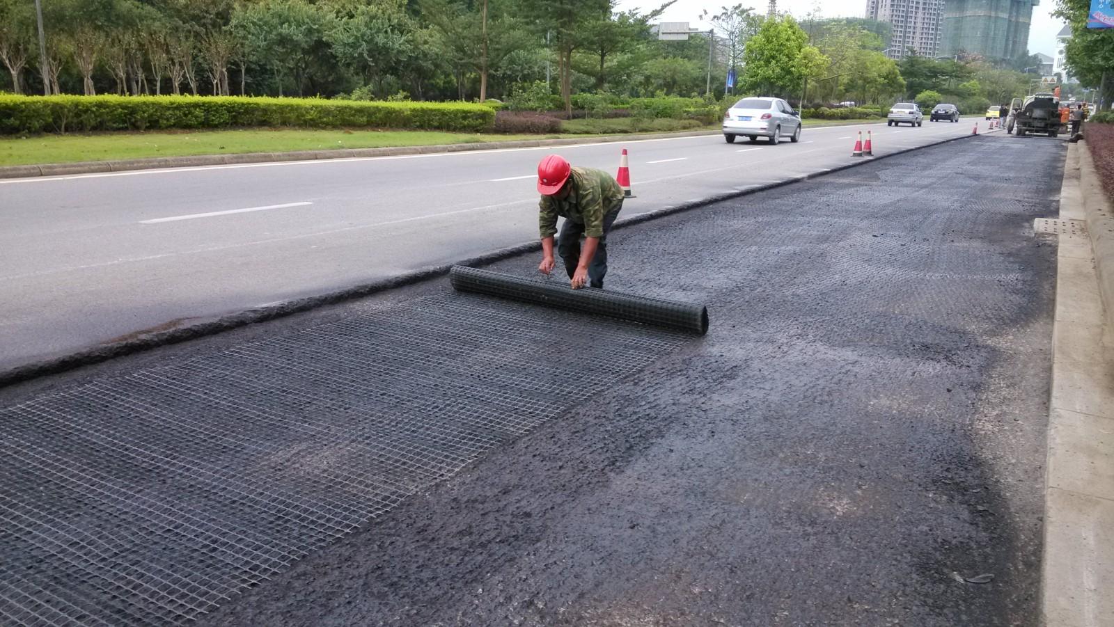 城市快速通道土工格栅|工程案例-广西柳州市能业物资有限公司