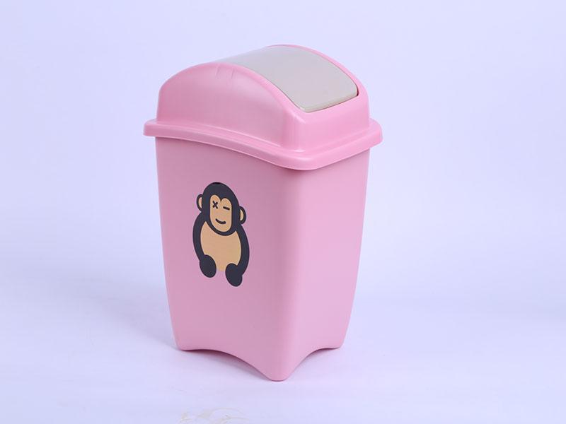 塑生源带盖卫生桶 7810|垃圾桶-临沂市伟杰家居用品有限公司