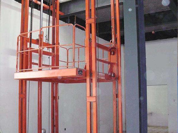 导轨式固定升降货梯