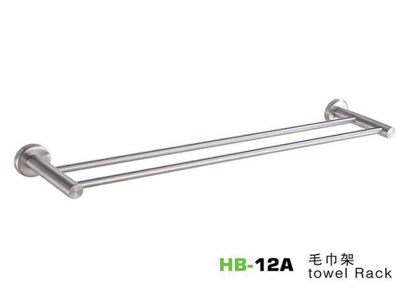 HB-12A毛巾架|卫浴置物架-毛巾架-高要市金利镇金一恒美装饰五金厂