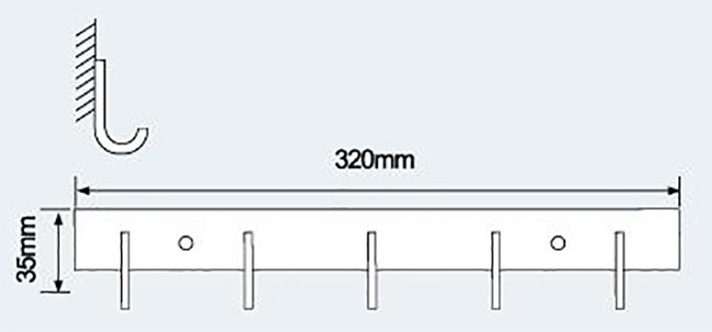 E-805衣钩|不锈钢挂钩-挂钩-高要市金利镇金一恒美装饰五金厂