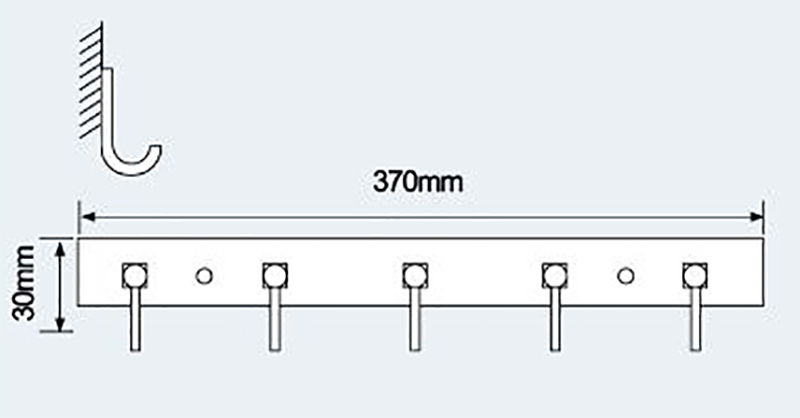 E-265衣钩|不锈钢挂钩-挂钩-高要市金利镇金一恒美装饰五金厂