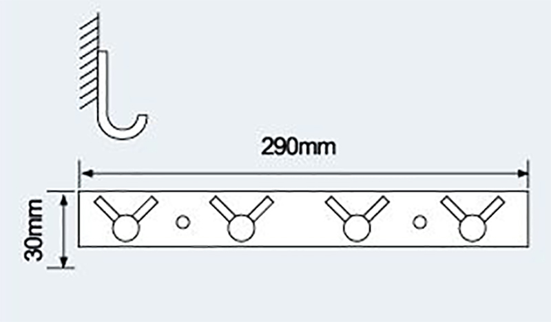 E-867衣钩|不锈钢挂钩-挂钩-高要市金利镇金一恒美装饰五金厂