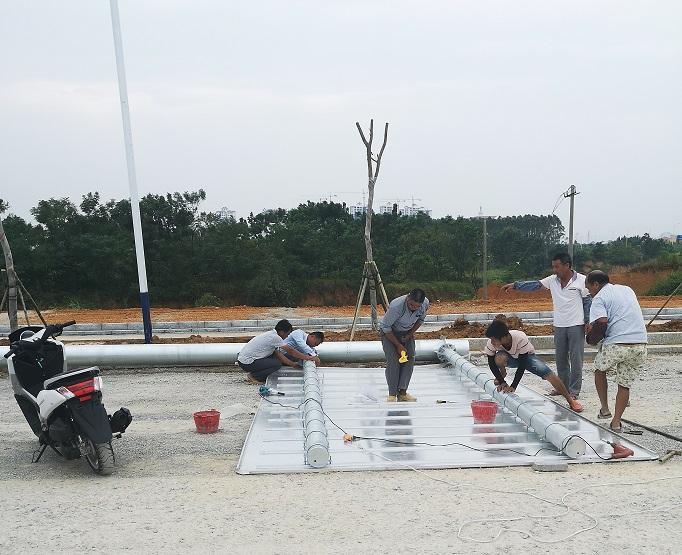来宾市福凌路|工程案例-广西骏溪交通器材有限公司