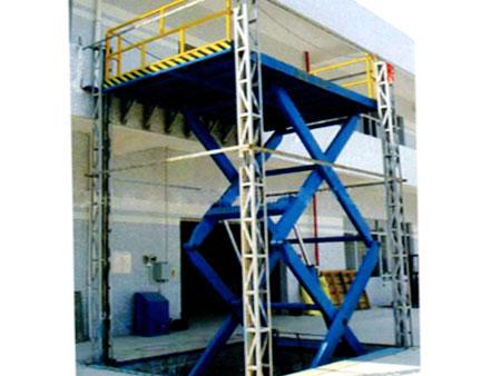 双柱铝合金升降梯