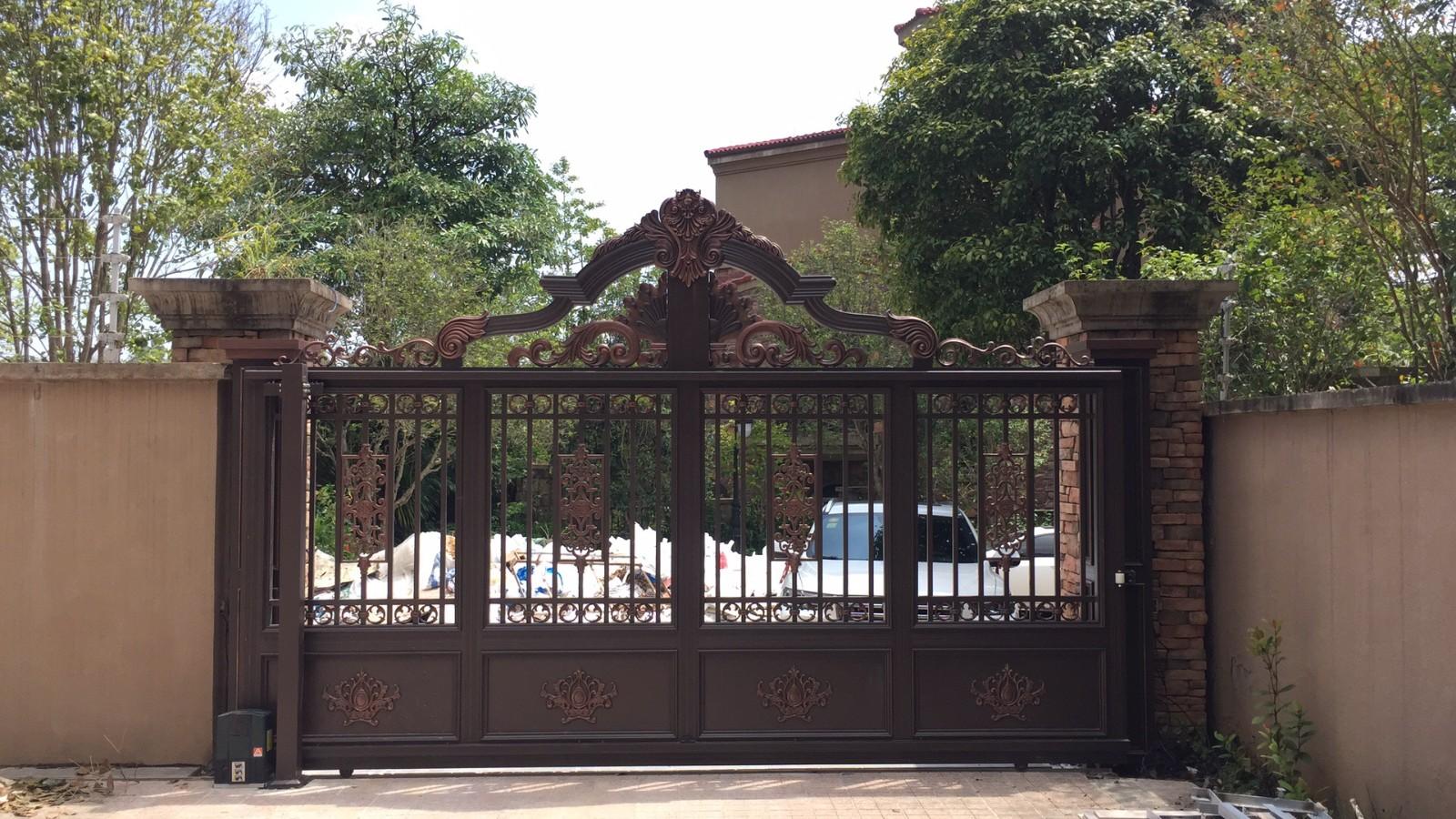 南宁铝艺庭院门