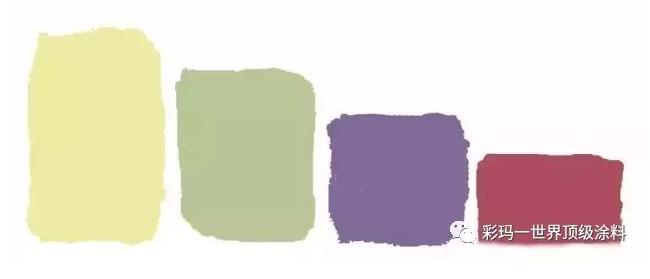 雙重互補色配色
