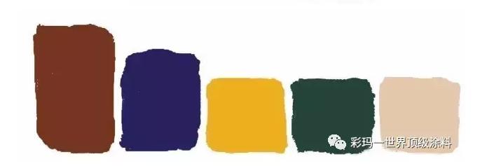 四方形配色方案