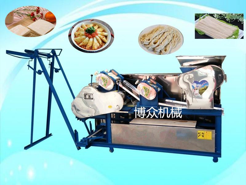 压面辊在面条机上的重要作用 做完面条饺子皮馄饨皮如何清理机器|解决方案-邢台博众机械厂