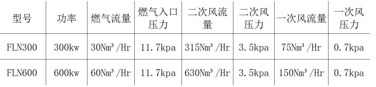 FLN 超低氮蓄热烧嘴