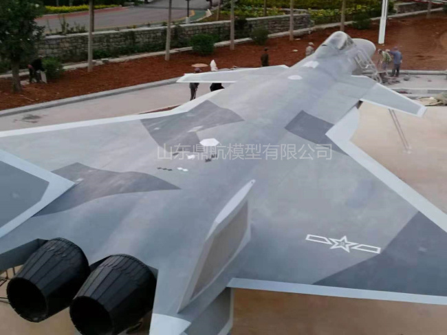歼20战斗机模型1:1比例歼20飞机模型定制生产|1:1飞机模型-山东鼎航模型有限公司