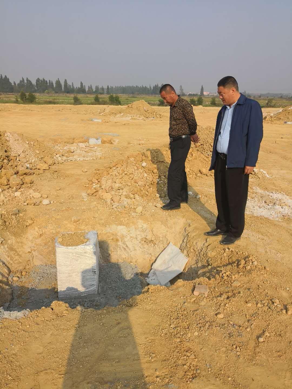 公司在南昌新的项目,开始动工了。