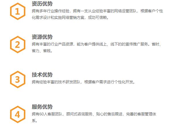 公司优势|单页-漳州鼎信网络科技有限公司