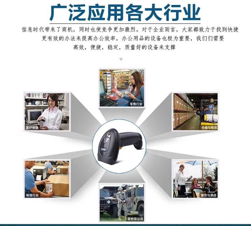 斑马Zabra LS4208一维手持式激光扫描器|Zebra斑马扫描器-晋江市兴恒越科技有限公司