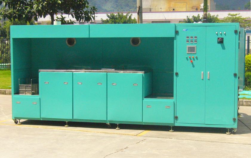 半自动碳氢清洗机
