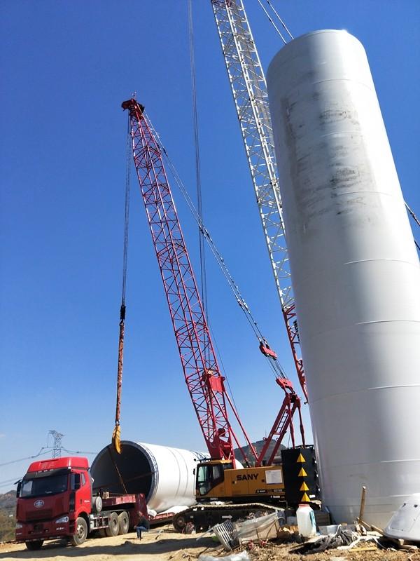 本公司增加三一75履帶吊一臺,承接各類風電安裝、化工、冶煉廠安裝,如有需要,請與我們聯系|新聞動態-修武縣恒力吊裝有限公司