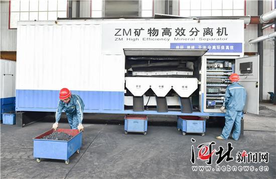 选煤厂引进新设备,促进高效率