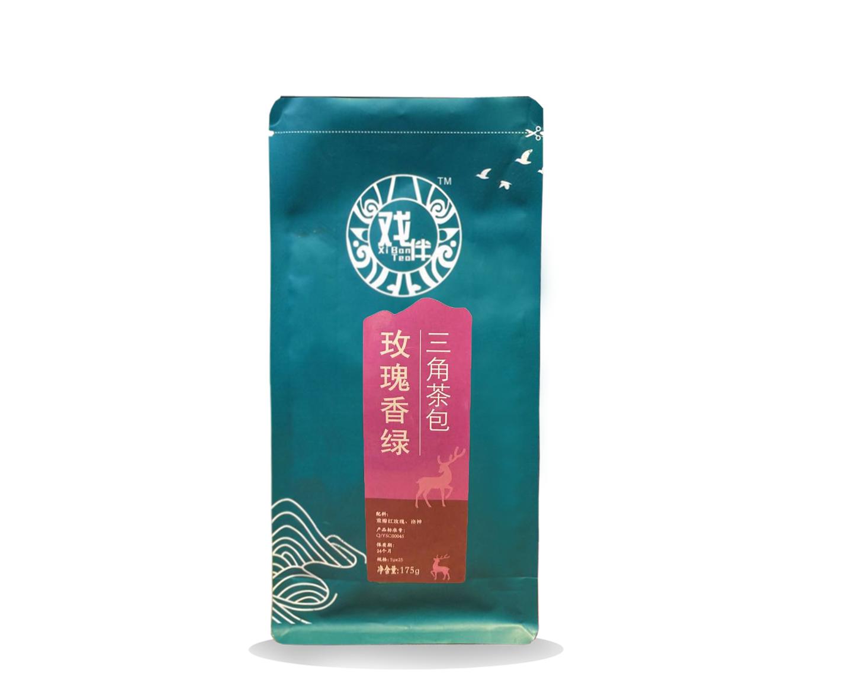 玫瑰香绿三角茶包