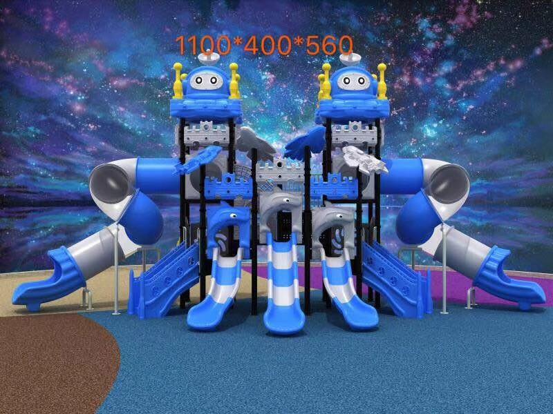 大型塑料组合滑梯 组合滑梯-广西虎童教育投资有限公司
