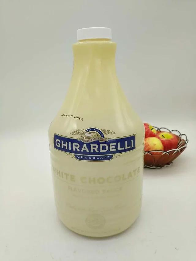 吉尔德利白巧克力酱