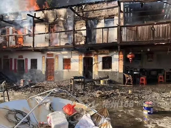 【爆炸新闻】突发!梅州一村民家中煤气爆炸引发火灾,大火烧掉10间房!|视频-深圳市前海三安盛科技有限公司