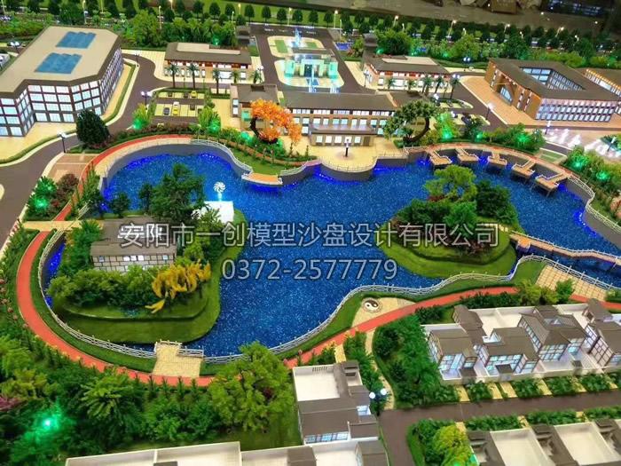 天伦老龄产业园_安阳市一创模型沙盘设计有限公司,安阳模型公司,安阳沙盘公司