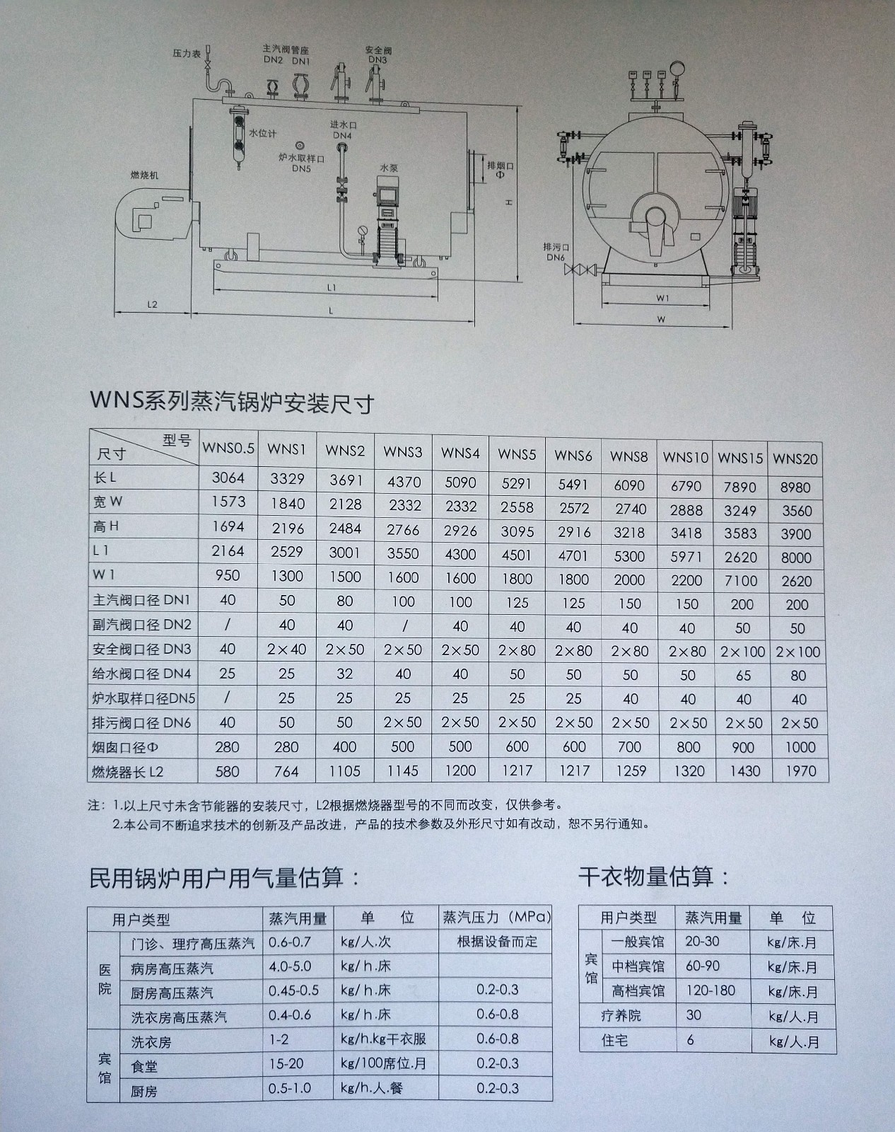 WNS系列熱水鍋爐|WNS系列熱水鍋爐-秦皇島領航暖通設備安裝有限公司